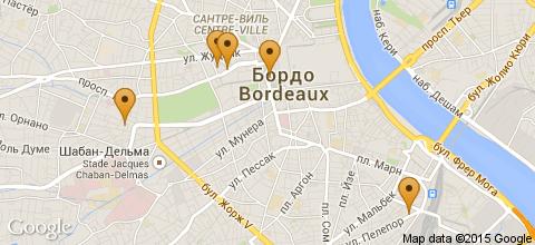 Отели Бордо